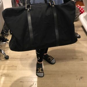 Large Gucci Duffle bag black authentic